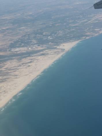 Coastline Israel near Tel aviv