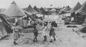 Maabarah camp in Israel - children