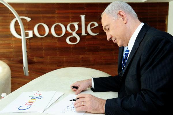 Netanyahu_Google