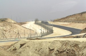 West Bank Fence