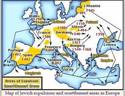 Verdrijvingen van Joden gedurende de middeleeuwen