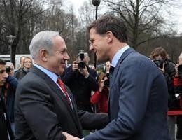 Bibi Netanjahoe in Nederland