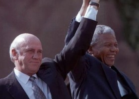 De Klerk over Israel en Apartheid