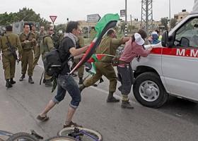 De ongewapende strijd van de Palestina activisten tegen Israel
