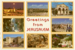 Greetings from Jerusalem