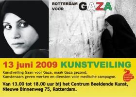 Salima Belhaj en Rotterdam Voor Gaza