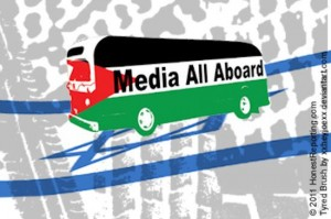 Palestine media bus