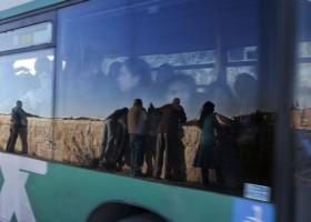 In de bus van de Israëlisch-Palestijnse Apartheid