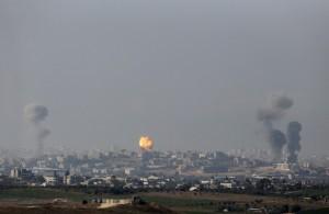 Israeli strike Gaza Strip