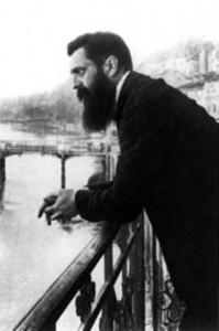 Theodor Herzl, oprichter van de politieke zionistische beweging