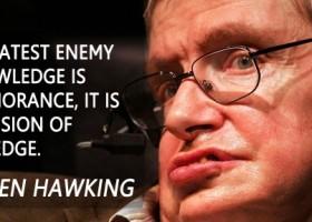 Stephen Hawking in het Israel-boycot universum