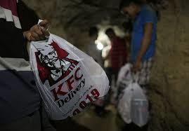 Media over Israël: Kentucky Fried Chicken in Gaza bezorgd