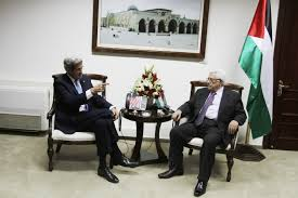 Kerry-Abbas-meeting