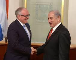 Timmermans balanceert bilateraal in Israel en Palestina