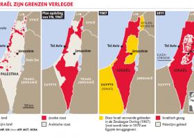 Misleidende kaartenreeks Israël-Palestina