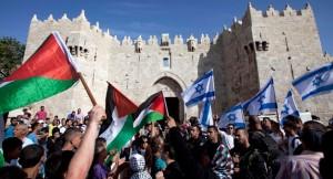 Jeruzalem Dag, 8 mei 2013 bij de Damascus Poort