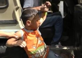 Media over Israël: de 'arrestatie' van een 5-jarig Palestijns jongetje