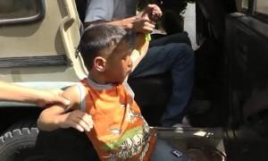 Palestijnse kleuter aangehouden, Hebron juli 2013