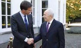 Peres in Nederland: meer misverstanden over Israel-Palestina