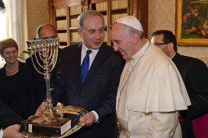 Benjamin Netanyahu at the Vatican