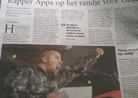 Opinie - Rapper Appa zaait haat
