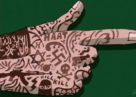 Youth for Palestine demonstreert tegen vrede