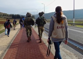 Oecumenische begeleiders baseren zich alleen op verhalen van Palestijnse kant