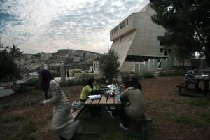 De Al-Quds universiteit in Oost Jeruzalem werkt wel nog samen met Israelische universiteiten.