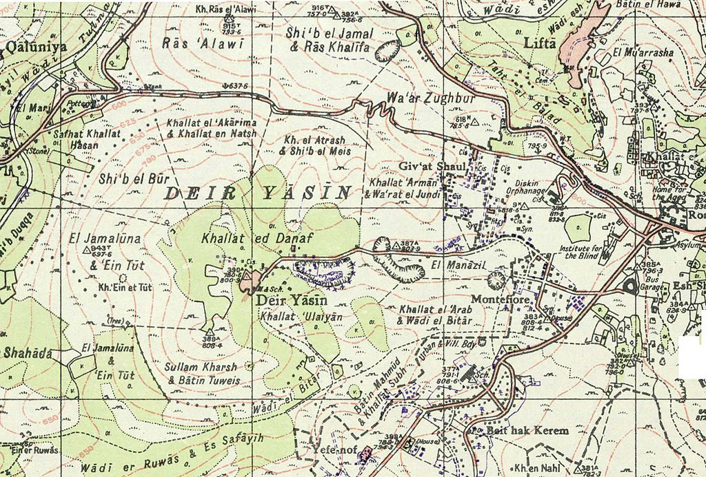 Deir Yassin in 1948