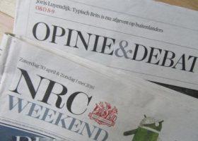 Antwoord van NRC ombudsman Sjoerd de Jong