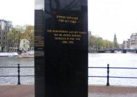 Kristallnachtherdenking in Amsterdam en het Joodse verzet