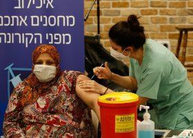 Covid-19 vaccinaties in Israel en de Palestijnse gebieden