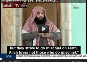 Palestijnse TV wijt alle kwaad op de wereld aan Joden (video)